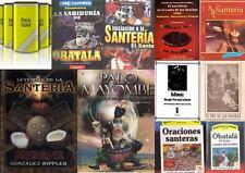 MAS DE 130 TITULOS DISPONIBLES PARA EL SANTERO DIGITALIZADOS