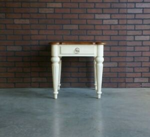End Table ~ Chairside Table ~ Legacy End Table by Ethan Allen