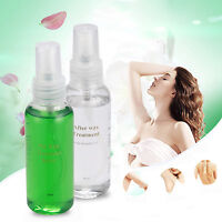 2 Bottle Pre & After Waxing Treatment 60ml Liquid Spray Hair Removal Set ~ US