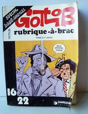 GOTLIB RUBRIQUE à BRAC -tome 3 - 1 ieme partie
