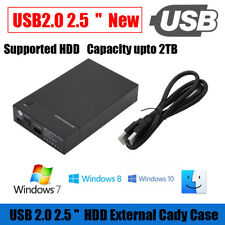 2.5'' /3.5'' inch External SATA USB 3.0 Hard Drive Enclosure Caddy Case HDD Box