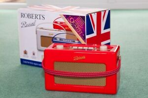 Roberts Revival RD-60 DAB/FM digital radio Jubilee Edition. Boxed & Complete