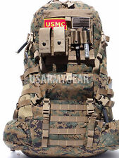 New USMC Main Pack + Hip Belt +QR for ILBE Marine Digital Marpat Backpack System