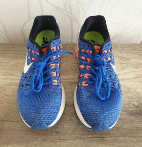 Nike Air Zoom Structure 19 Schuhe Sneaker Laufschuhe Running Blau Gr. 40,5