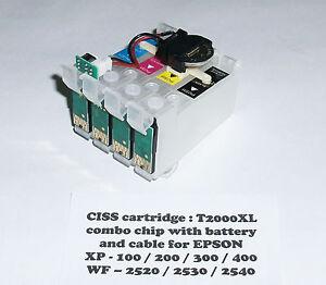 T200XL CISS Cartridges for XP-100 XP-200 XP-300 XP-400