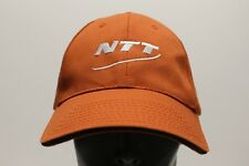 NTT - BURNT ORANGE - ADJUSTABLE STRAPBACK BALL CAP HAT!