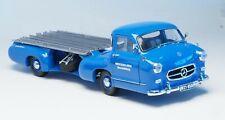 "CMC 1:18 scale M-036 1954 Mercedes-Benz racing car transporter ""Renntransporter"""