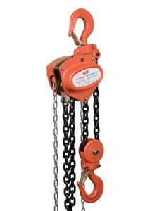 NEW industrial lifting equipment Chain Block 3.2t x 3mtr