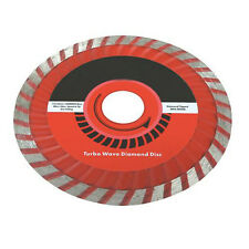 115mmx22.2mm TURBO Vague diamant coupe blade-for Pierre, carreaux, blocs, béton