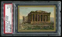 1911 T99 Sights & Scenes of the World Parhtenon Athens PSA 5.5 EX+ #22039416
