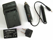 Battery+Charger for HP Photosmart R07 Q2232-80001 R507 R607 R707 Digital Camera