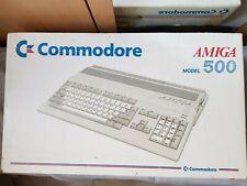 Console  PC commodore Amiga 500 - box + notice - RARE
