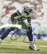 Dexter Coakley Signed 8x10 Photo Dallas Cowboys Gameday Hologram