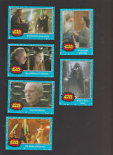Journey to Star Wars The Force Awakens retro style trading cards pub. 2015