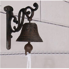 Metal Cast Iron Door Bell Wall Mounted Traditional Doorbell Shop Decoration NEW