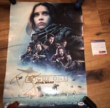 DONNIE YEN SIGNED 11X14 PHOTO PSA DNA COA AUTOGRAPH ROGUE ONE STAR WARS STORY