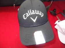 NWT CALLAWAY WEATHER SERIES GOLF HAT BALL CAP - OLYMPIC CLUB LOGO - STRAP BACK