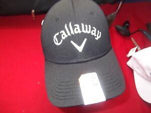 NWT CALLAWAY WEATHER SERIES GOLF HAT BALL CAP - OLYMPIC CLUB LOGO - STRAP BACK