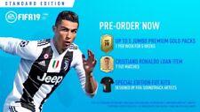 (PS4) FIFA 19 - DLC Standard Edition - 5 Jumbo Premium Gold Packs, CR7 Loan