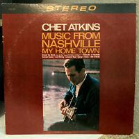"CHET ATKINS - Music From Nashville My Hometown (Camden) 12"" Vinyl Record LP - EX"
