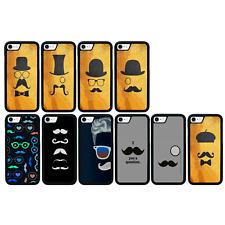 Moustache Bumper Case Apple iPhone 5 5s SE 6 6s 7 8 PLUS X XS 11 Pro MAX XR