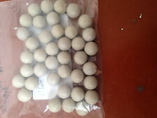 "PEEK BALL - 450g PEEK BALLS 5/8"" OR .625"" DIAMETER NATURAL COLOR - 1 BALL"