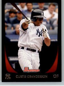 2011 Bowman Baseball #22 Curtis Granderson -NY Yankees