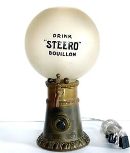 Antique Steero Electric Hot Drink Dispenser Lamp
