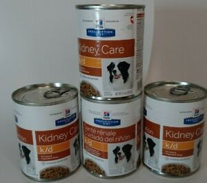 4 Cans Hills Prescription Diet K/D Kidney Care Chicken & Veg Stew. Exp 5/22