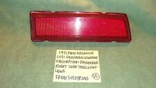1971 FORD GALAXIE LTD GENUINE FACTORY RIGHT SIDE TAILLIGHT LENS FREE SHIPPING