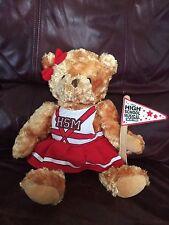 "14"" Disney HIGH SCHOOL MUSICAL Cheerleader TEDDY BEAR Stuffed Plush Animal"
