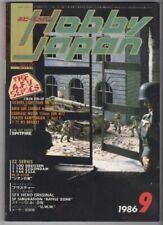 Sep 1986 HOBBY JAPAN/ KOKU-FAN Anime/Manga Mag #4