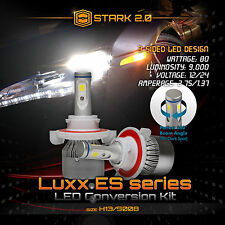 Stark 80W 9000LM Flip COB Chip LED Kit 6000K Headlight Hi / Lo - H13 9008