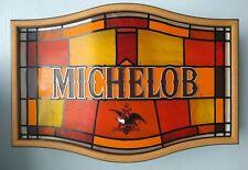 Vintage Michelob Beer Light Up Sign Plastic - Working