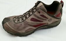 MERRELL Siren Sync Brown Red Womens 8 M Hiking Shoes Trail Sneakers Sport Vibram