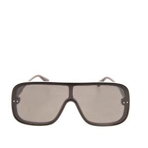 RRP €315 BOTTEGA VENETA Shield Sunglasses Lenses By Zeiss HANDCRAFTED in Italy