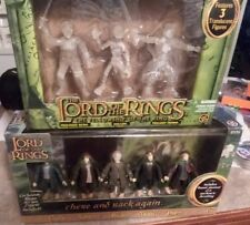 LOTR LORD OF THE RINGS TOY BIZ GIFT LOT PACK THERE AND BACK AGAIN HOBBIT GOLLUM