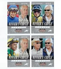 Set of 4 Horse Racing Cards. Kentucky Derby, Belmont Stakes,  Hollywood Gold Cup