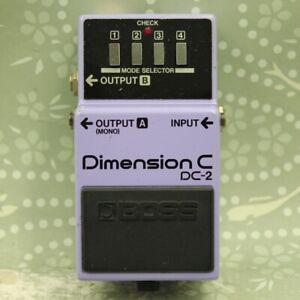 BOSS DC-2 Dimension C Made in Japan Chorus Guitar effect pedal (764100)