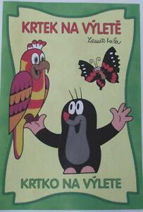 Krtek Mole Maulwurf Czech Childrens Cartoon Character Childrens Colouring Books