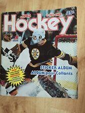 1983 Pegatinas de Hockey sobre Hielo-Nhl álbum-O-pee-chee - Topps