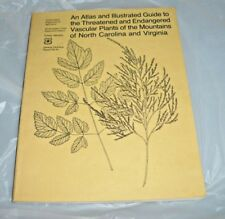 1983 FOREST SERVICE GUIDE THREATENED ENDANGERED PLANTS NORTH CAROLINA VIRGINIA