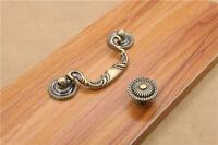 Antique Bronze Knob Pull Handle for Dresser Cabinet Drawer Bin Kitchen Cupboard