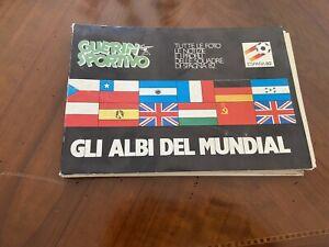 RACCOLTA GUERIN SPORTIVO MONDIALI CALCIO 1982 GLI ALBI DEL MUNDIAL MARADONA ZICO