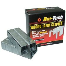 1000 Heavy Duty 14 mm Quality Staples for Staple Gun Office Wall