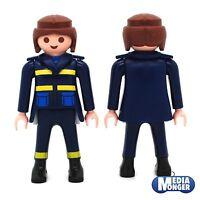 playmobil® Figur: Frau in Uniform | Feuerwehr | THW | Post | Küstenwache