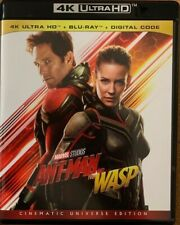 MARVEL ANT MAN AND THE WASP 4K ULTRA HD BLU RAY 2 DISC SET FREE WORLD SHIPPING