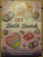 Diy Bath Bomb Kit, Includes Heart and Ball shaped molds - Endless Creativity