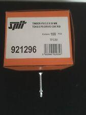 SPIT 921296 timberfix per applicazioni in acciaio 5.5mm x 50mm x 100pc
