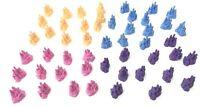 Monopoly Jr Disney Princess Castle Replacement Parts 50 Pieces / Cupcake Toppers